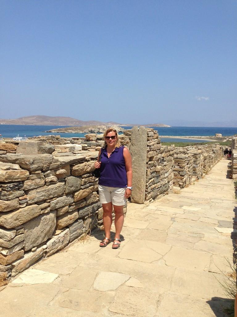 Delos, Island off Mykonos, Celeste