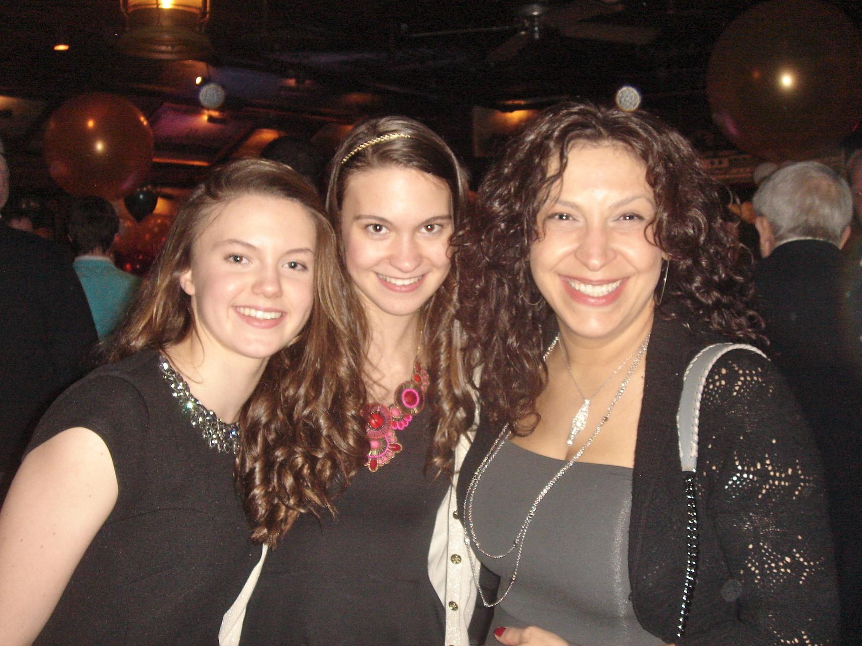 Kate & Ellie Kagel & Carmelina Pagano