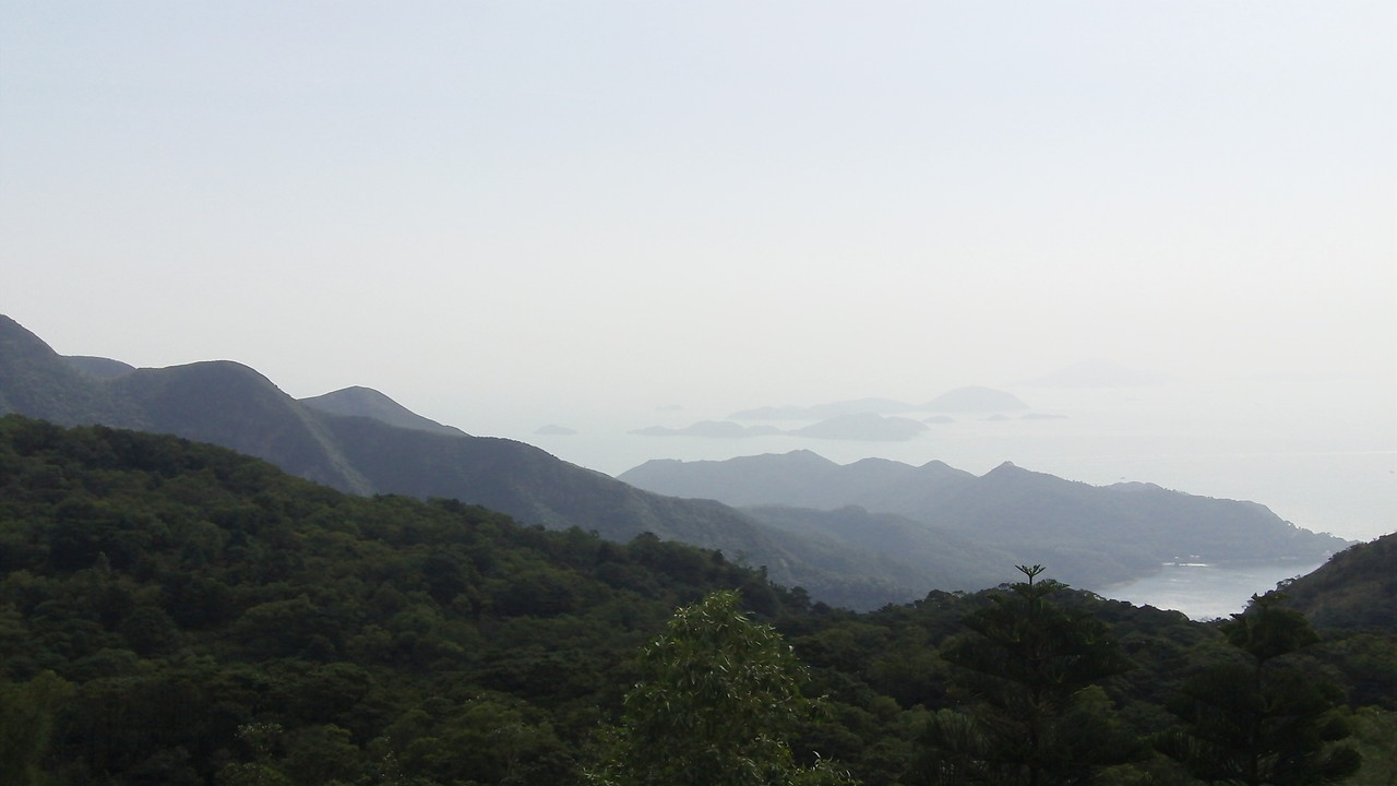 Beautiful view from the top of the Giant Buddha