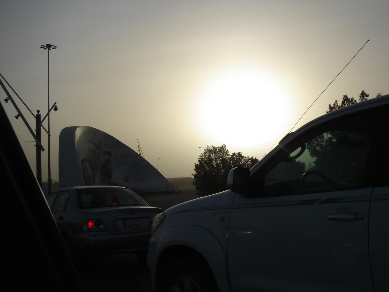 Sandstorm, Qatar