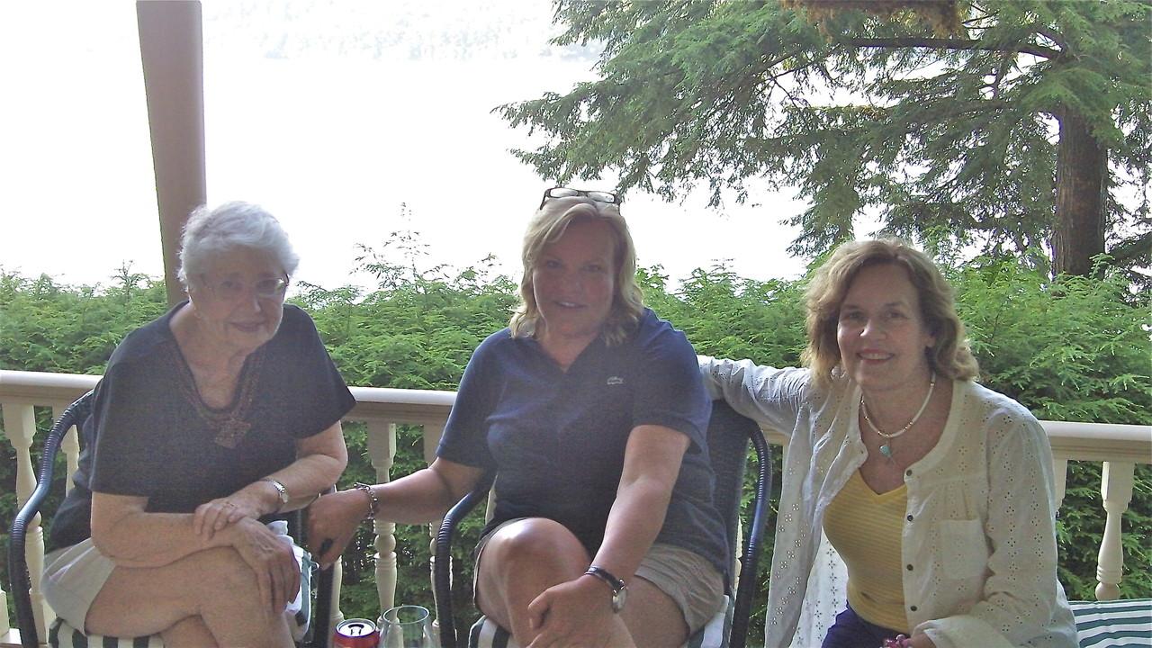 Bernie, Celeste, & Lorraine