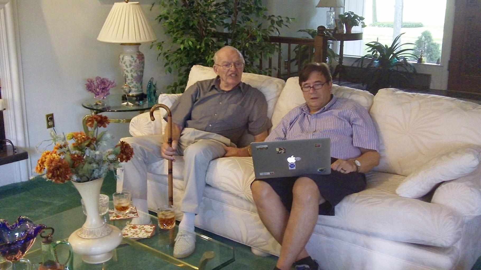 Lou and John