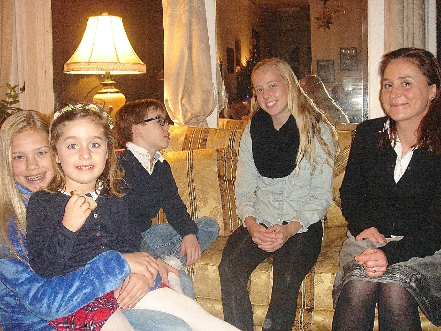 Brianna, Charlotte, Alexandre, Brooke & Barbara