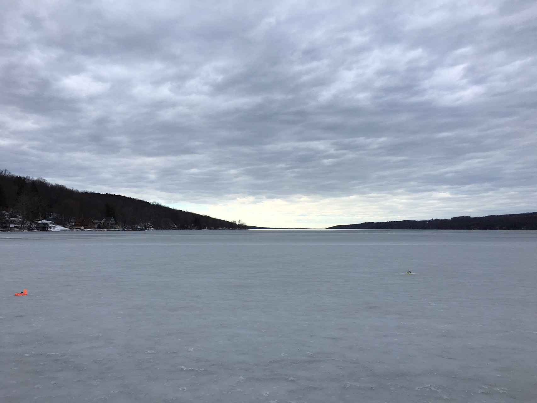 Owasco Lake, Feb. 20, 2016