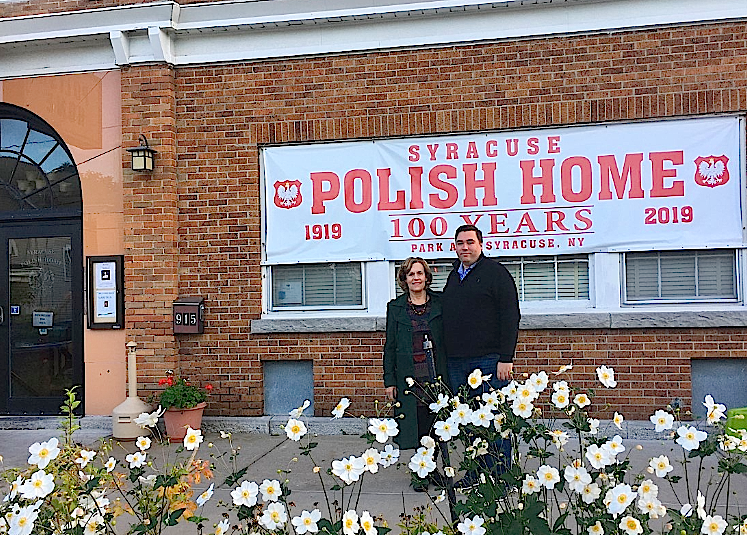 SYRACUSE, NY  100th Anniversary of the Polish Home, Lorraine & Greg, October 19, 2019