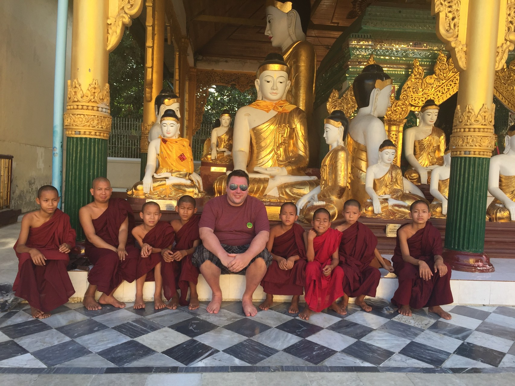 Greg in Myanmar (Burma)  March, 2016