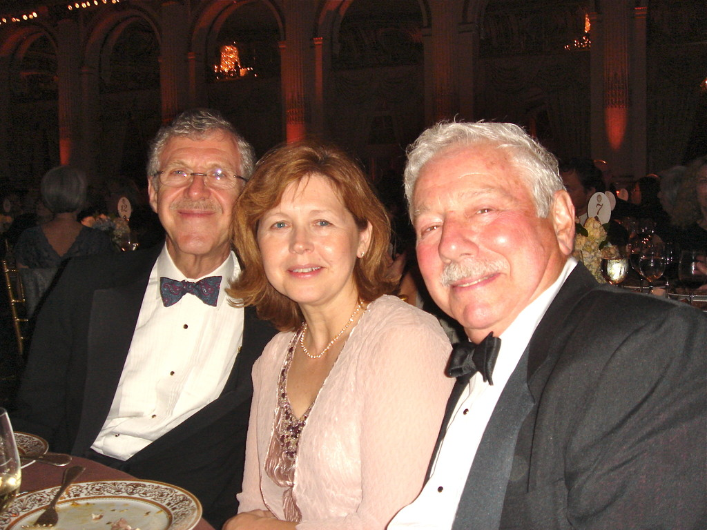 Al Mushlin, Barbara & Don, at the Greenberg Dinner, 2012?