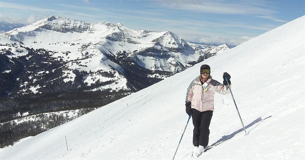 Lorraine on Lone Peak