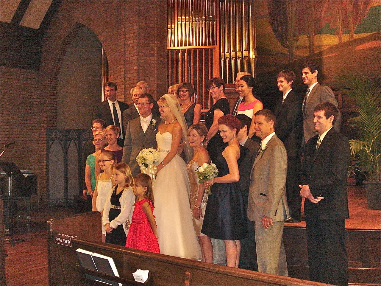 Bride & Groom's Families