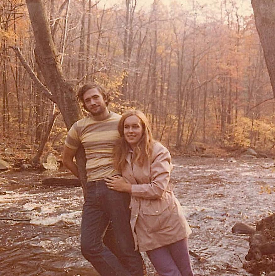 John Wagner, Lorraine Gudas, Hacklebarny Park, NJ 1972