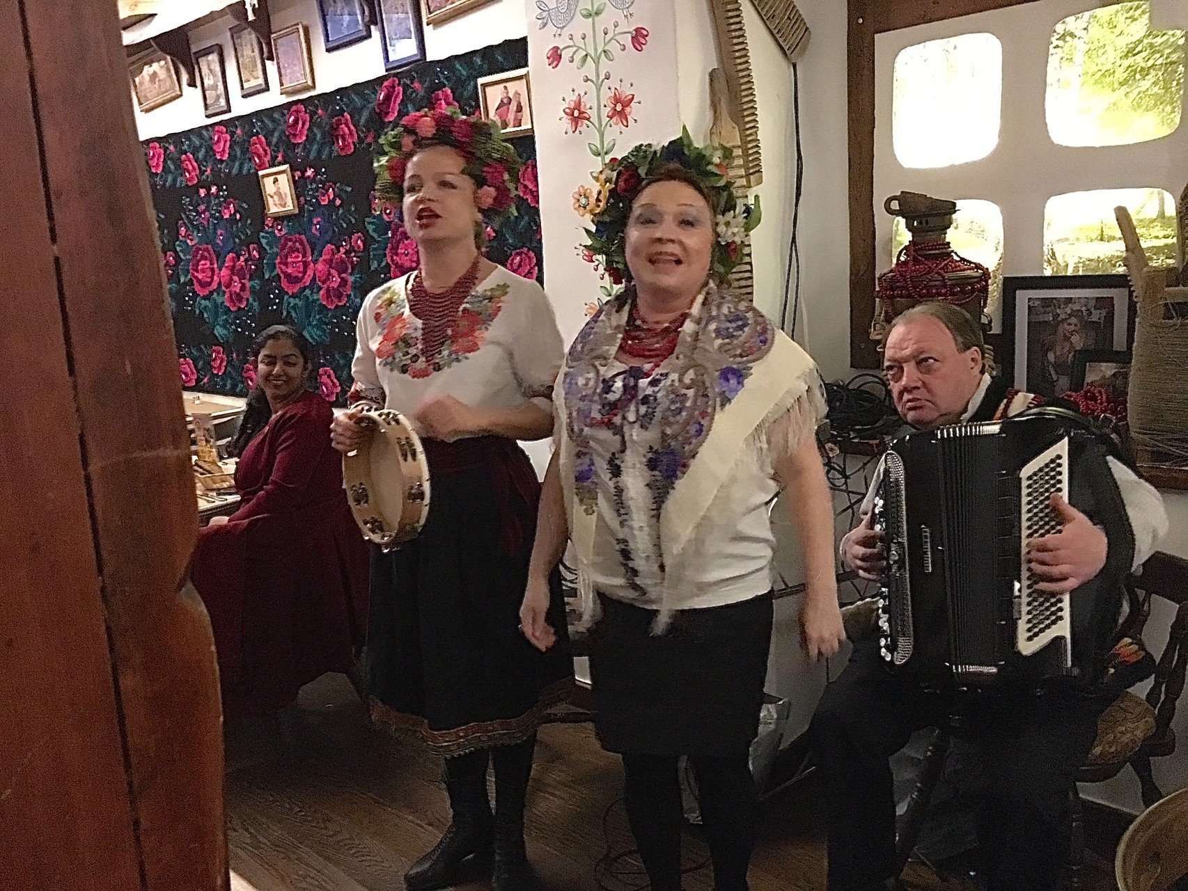 Ukranian singers at Taras Bulba, 3/24/16