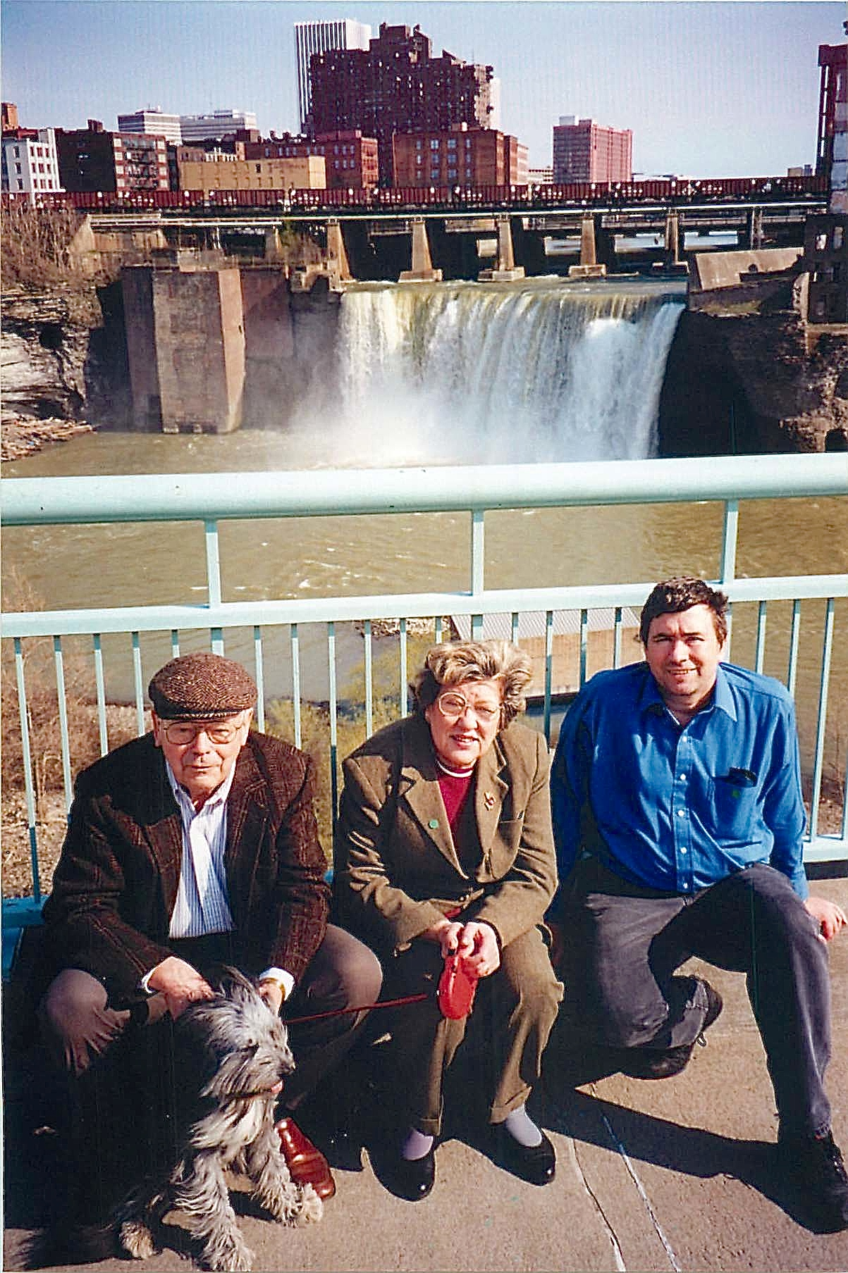1998 Al, El, & John Rochester, NY in front of the falls!