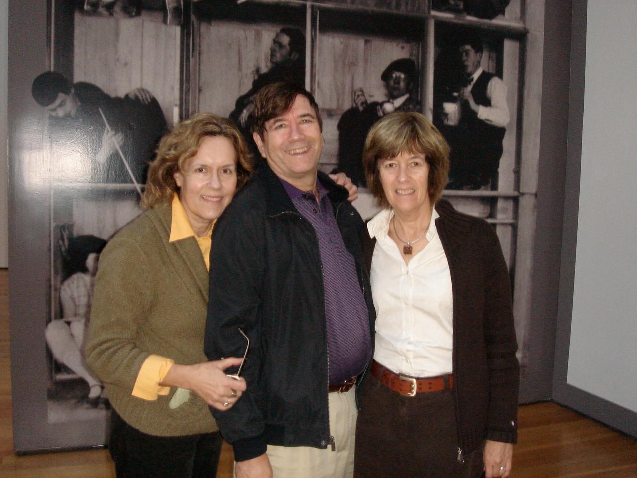 NYC, MOMA  2009 Lorraine, John & Nancy
