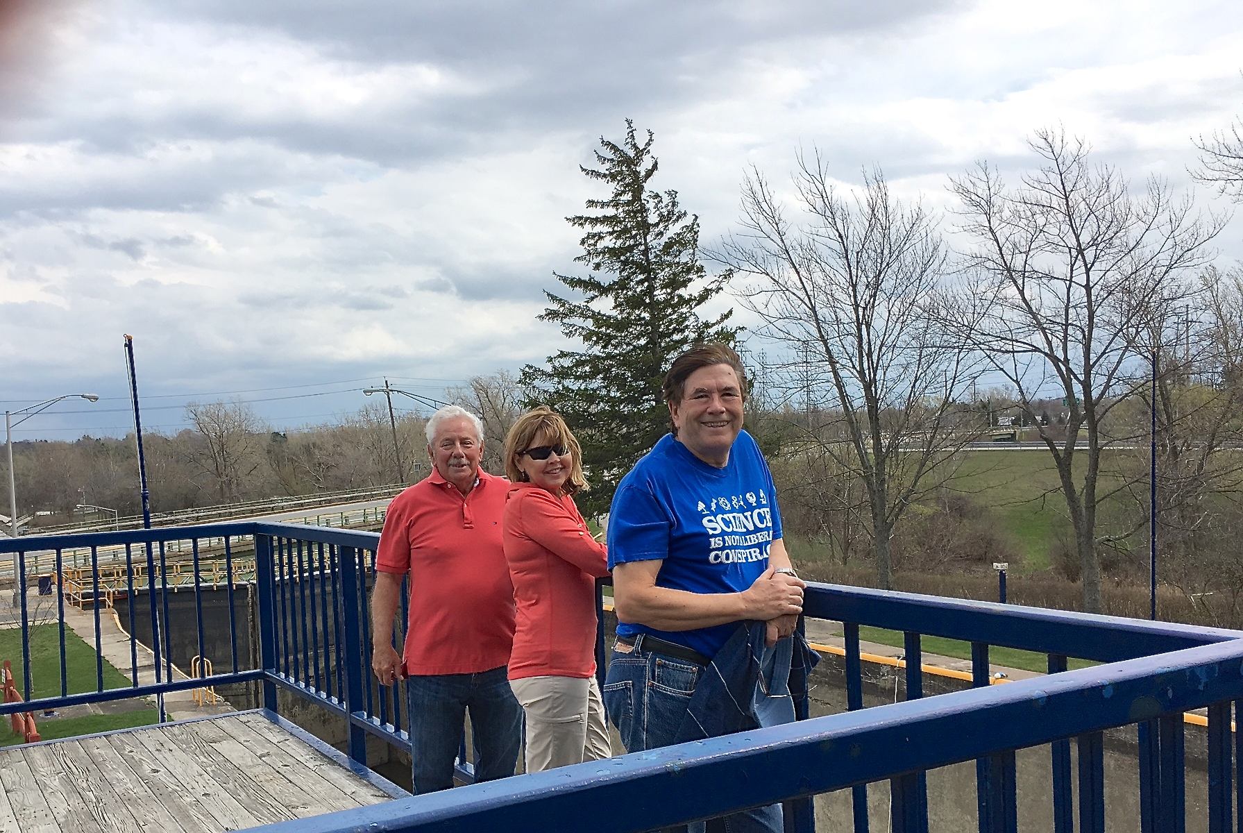 Don, Barbara, & John Erie Canal, Rochester  4-16-17