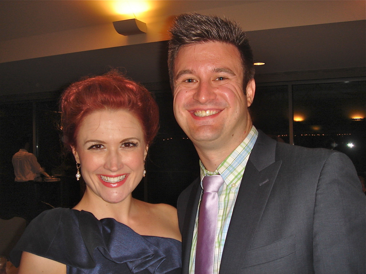 Amy Schwarz & Friend Chris