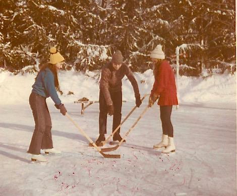 Tori, John Wagner, & Celeste, 1970