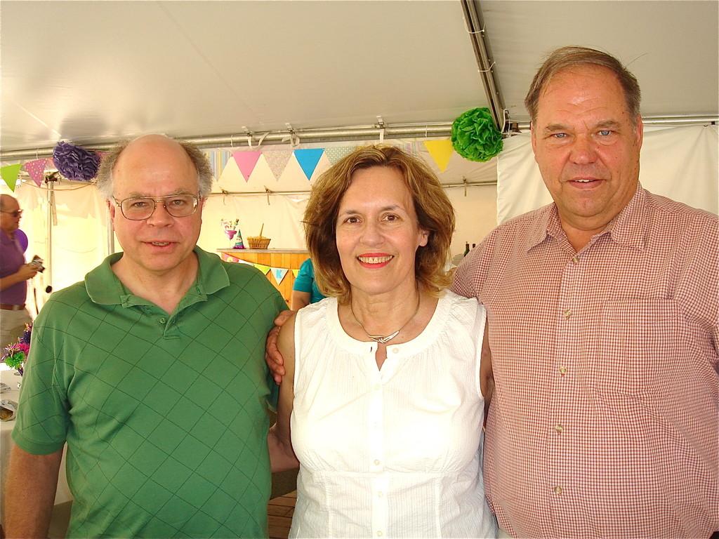 Paul (Tony's son), Lorraine (Al's daughter), & Tom (Walt's son)