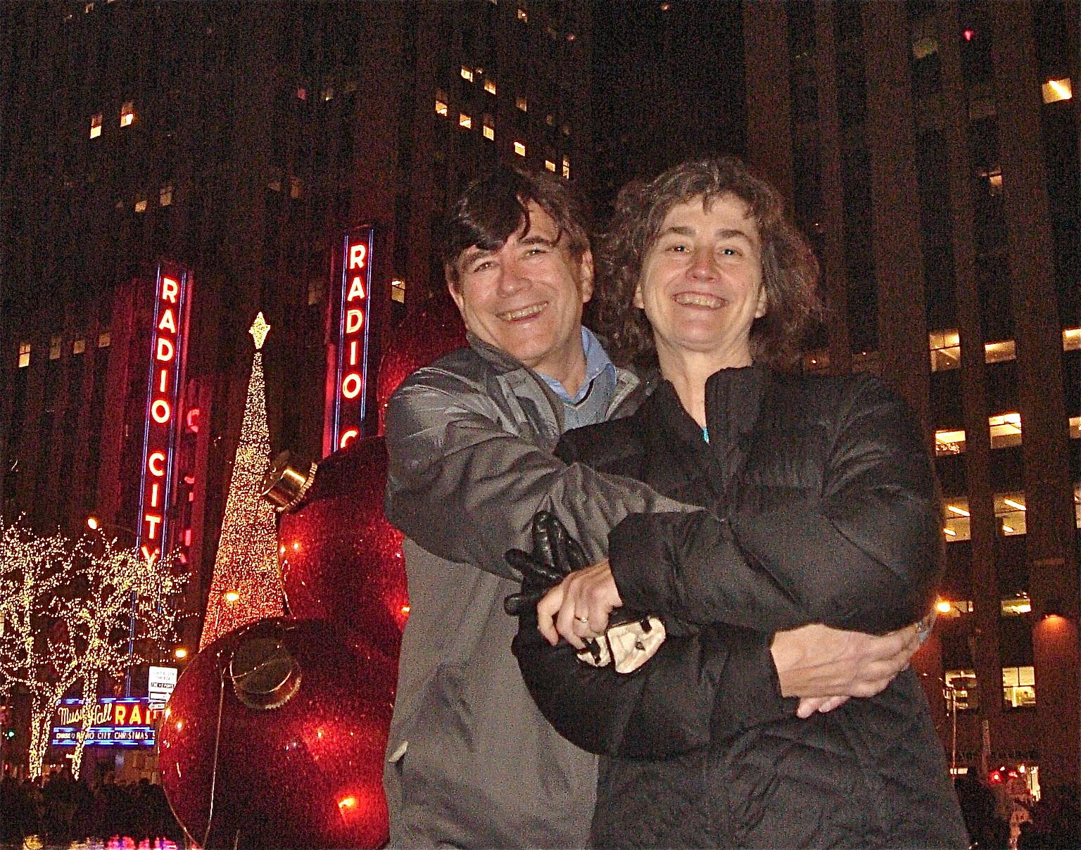 John & his sister Ann Wagner Ackerman