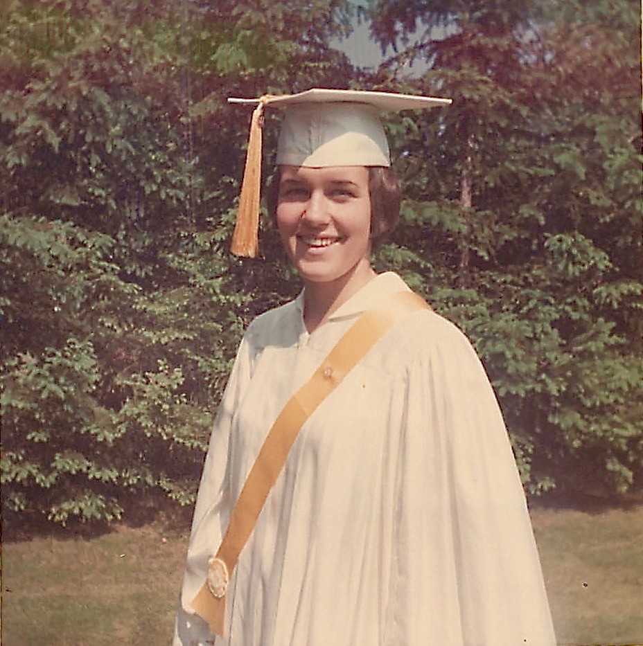 Graduation, Salutatorian,  The Convent School, 1966