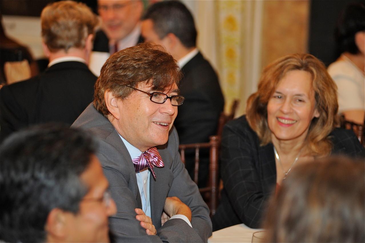 with Tim Hla, John & Lorraine at Dr. Dan Knowles Birthday Party, Metropolitan Club, NYC