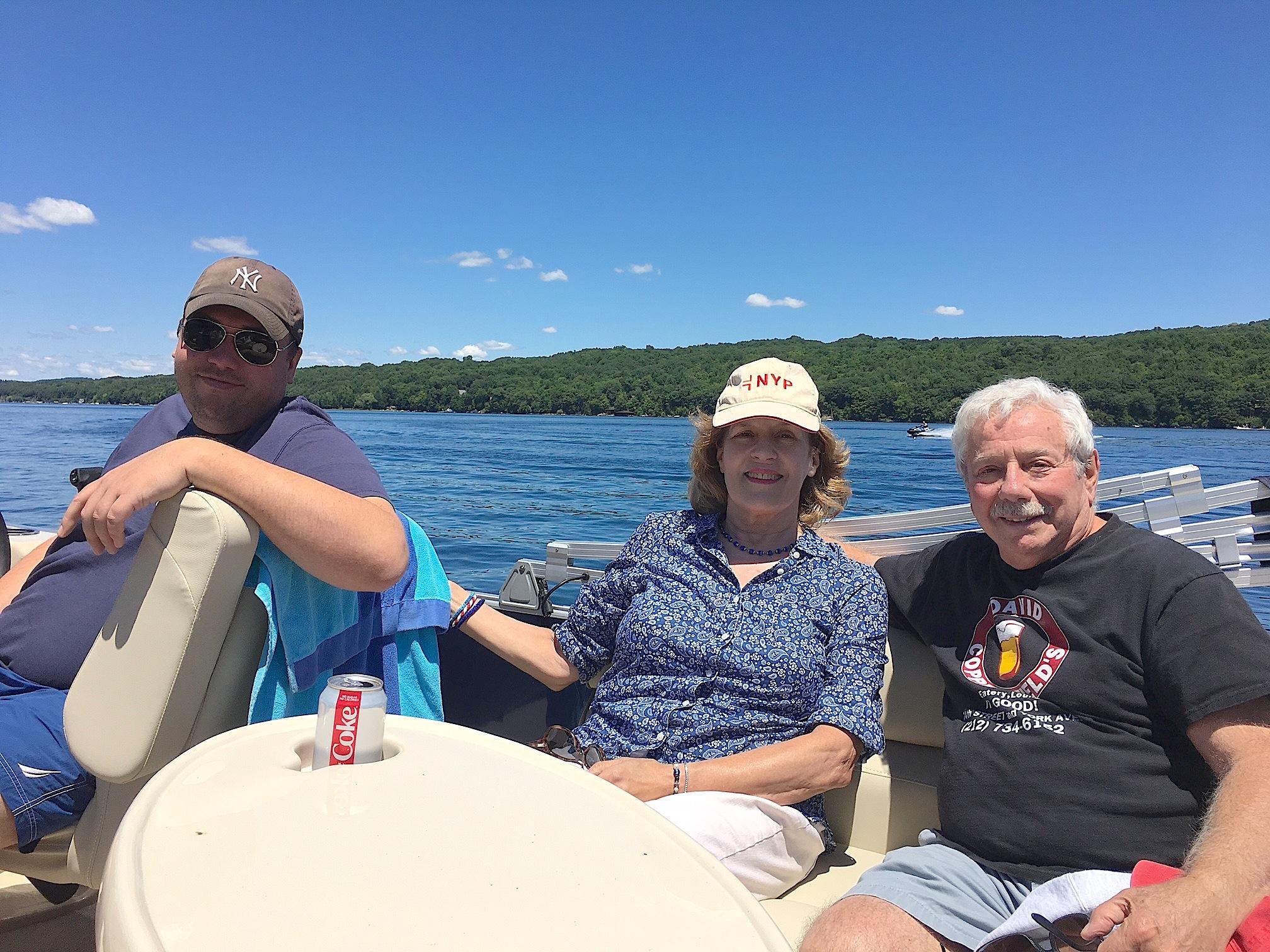 Greg Wagner, Lorraine Gudas, Don Fischman