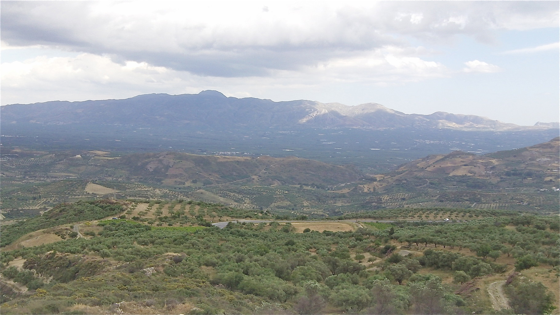 mountains near Gortyna, Crete