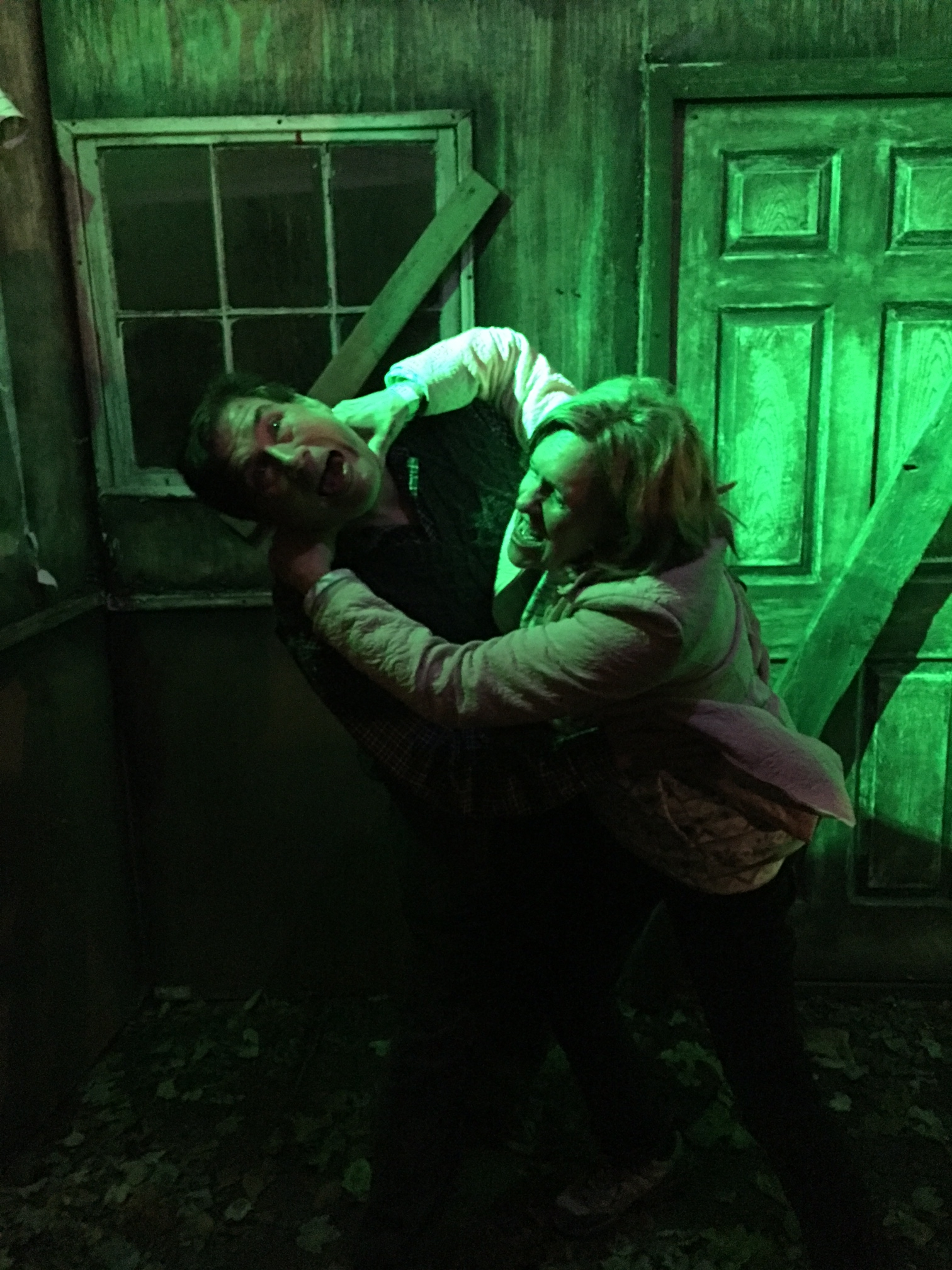 John and Lorraine at Frightfarms