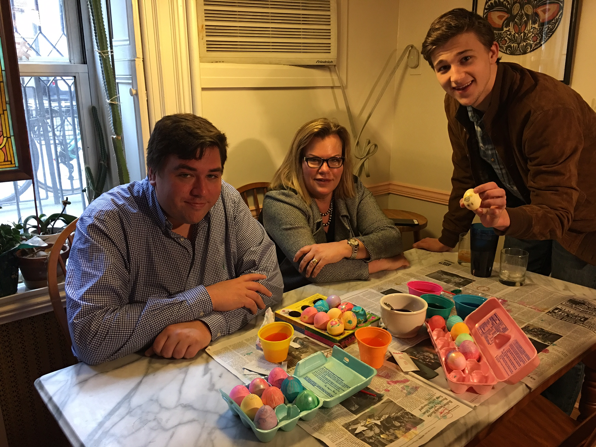 Greg, Celeste, & Jack  Easter, April 1, 2018