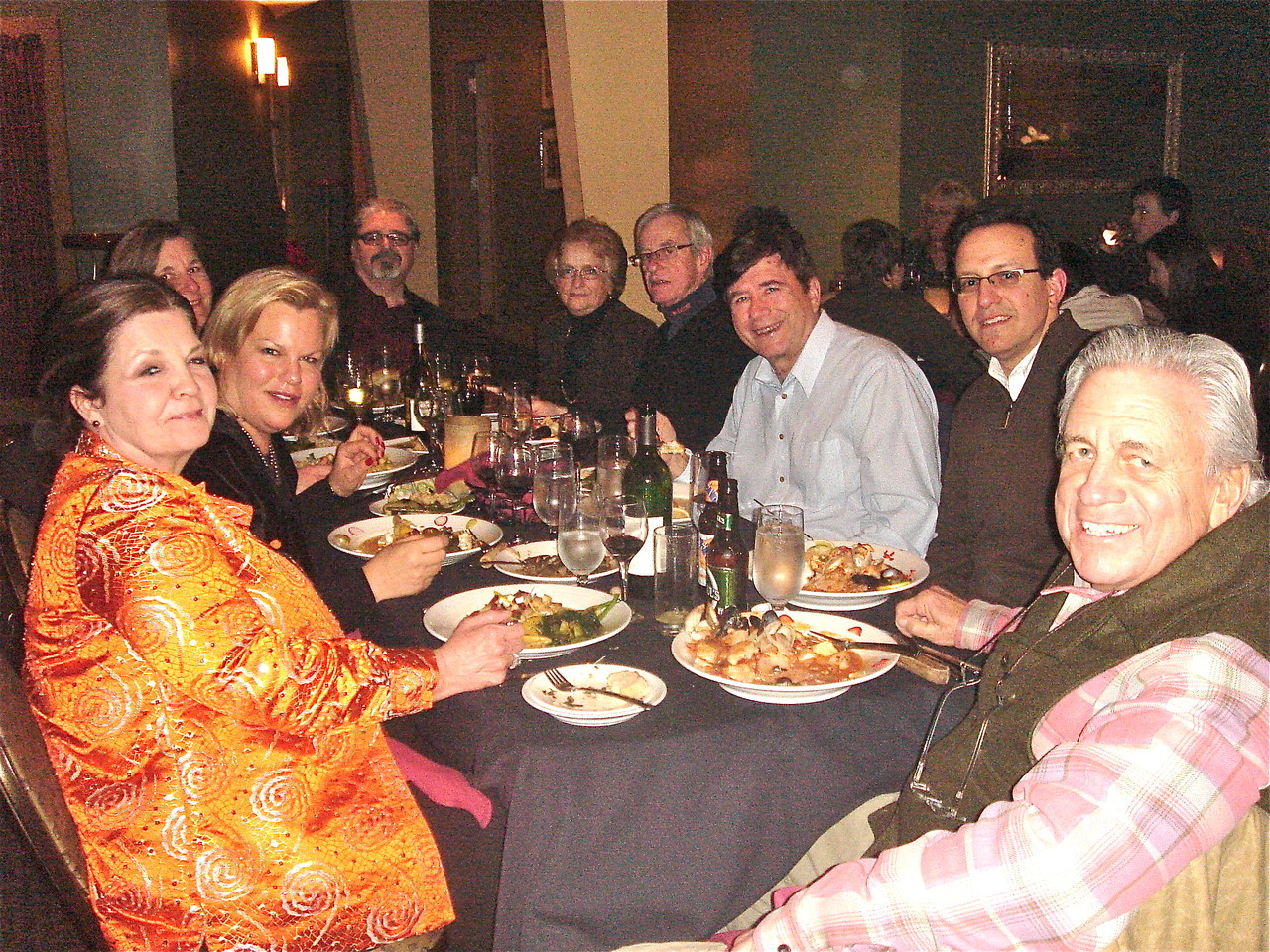 Jean Tringle, Celeste, Cyndi Signorelli, Robert Tringle, Jeanne & John Sheridan, John Wagner, & Stuart Kagel