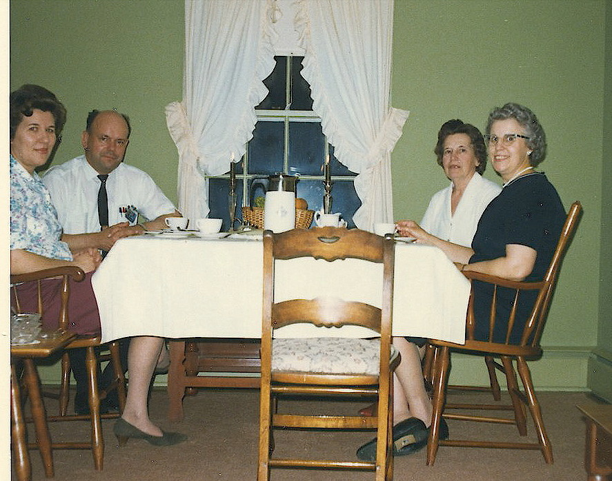 1960s? El & Al Gudas, Mae Gudas, & Alice Listowich,  Syracuse, NY