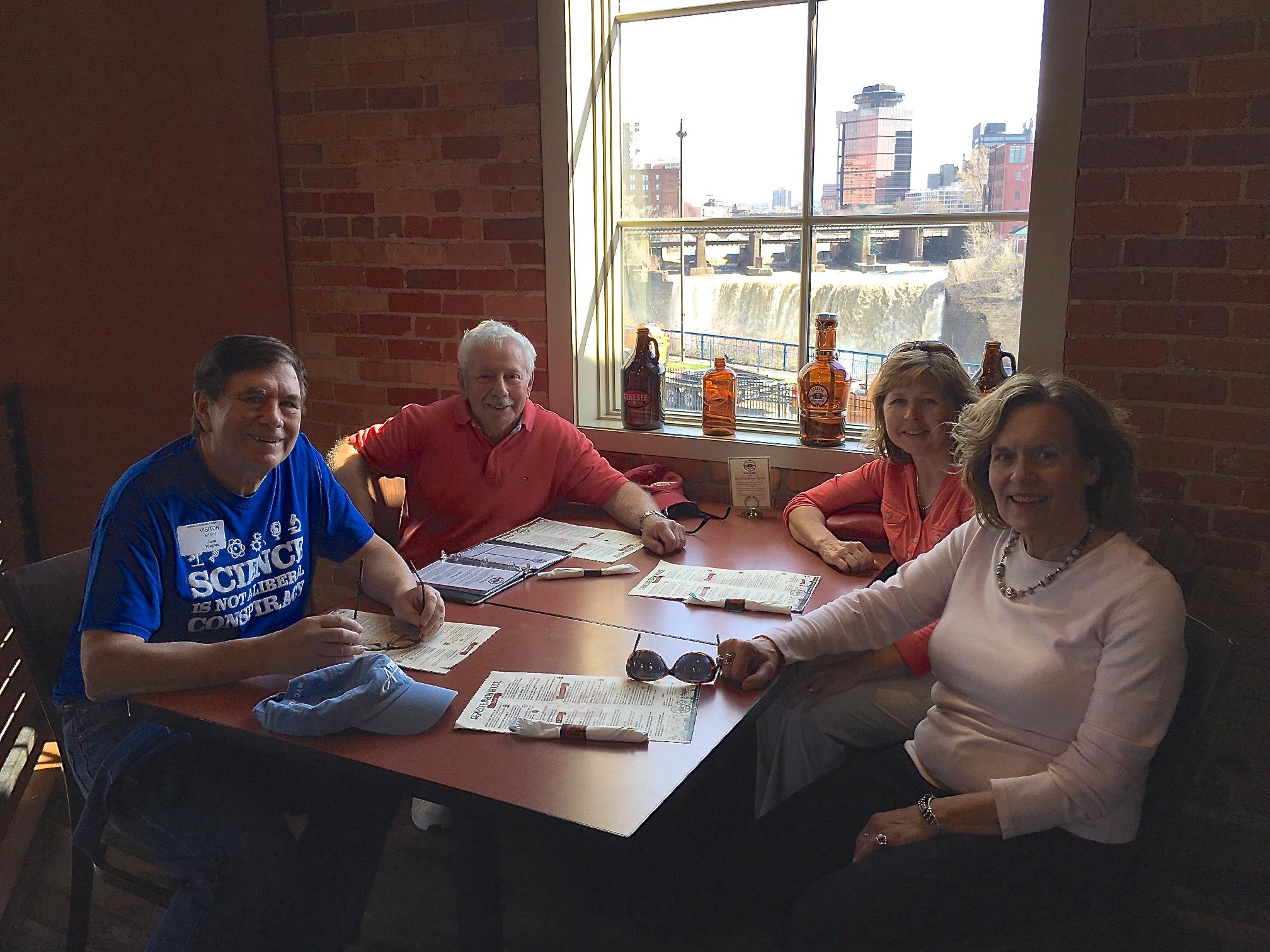 John, Don, Barbara Lohse & Lorraine Gudas 4-16-17