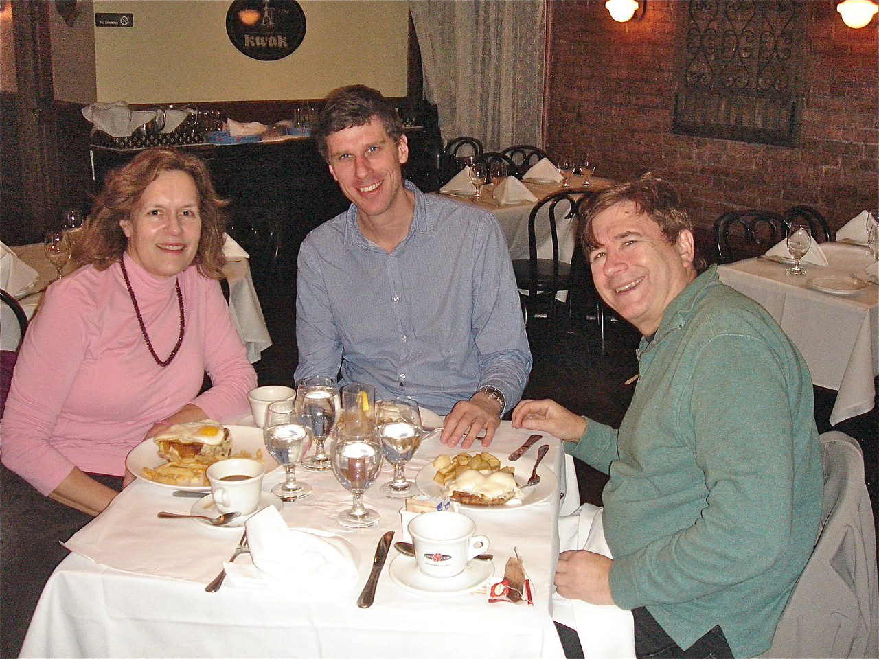 Lorraine, Patrick, and John Wagner