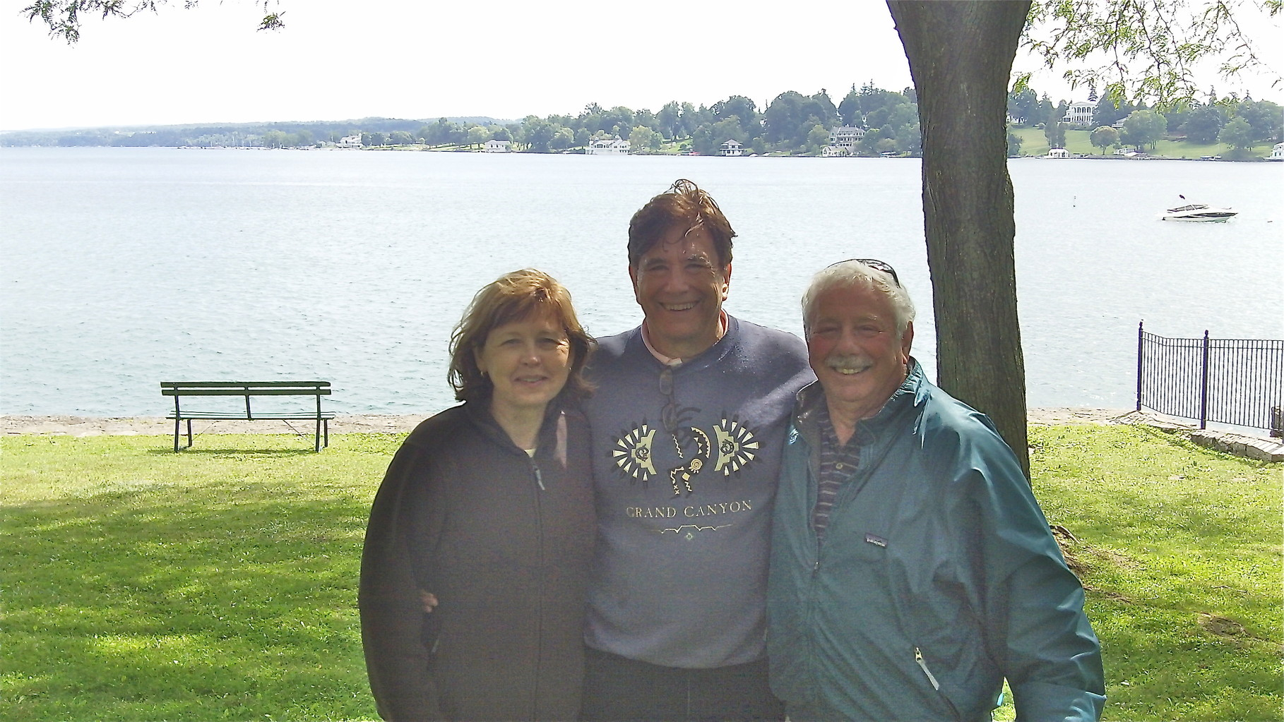 Barbara, John, & Don, town of Skaneateles