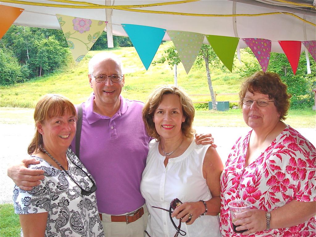 Pauline, David (Walt's son), Lorraine (Al's daughter), & Margaret (Bud's daughter)