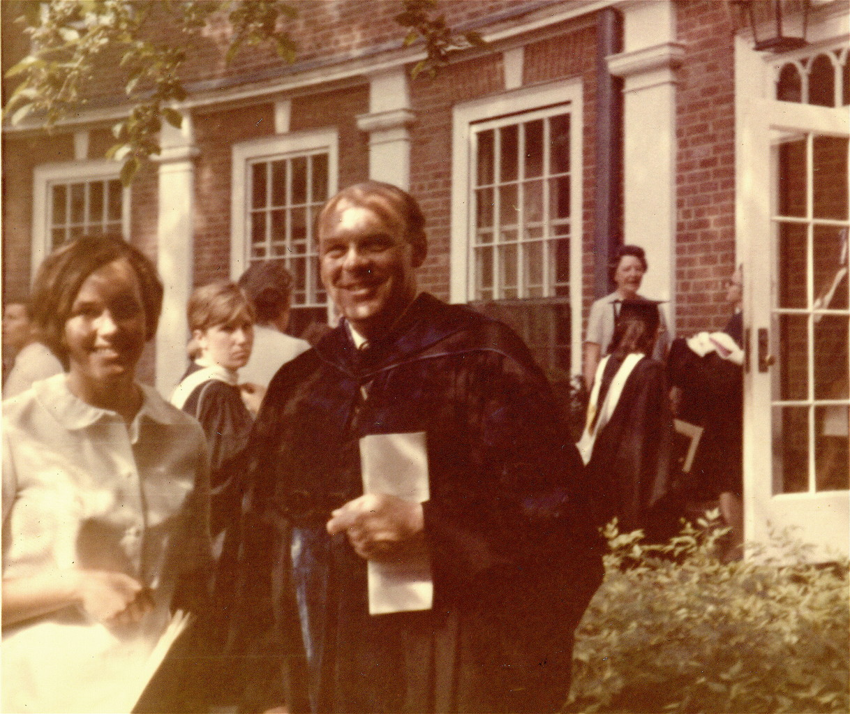 Lorraine Gudas and Dr. De Villafranca, 1970