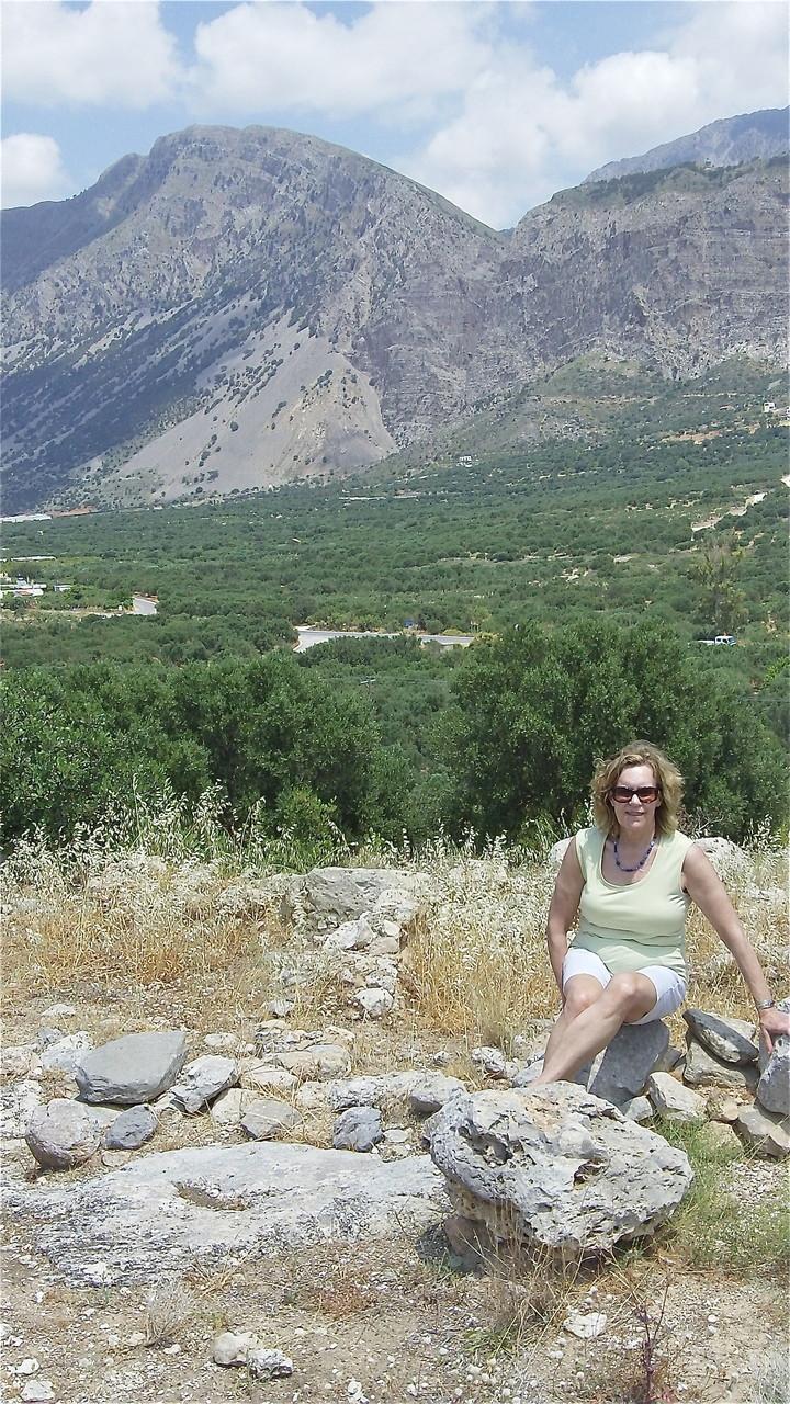 Minoan ruins, Vasiliki, Crete, even older town near Gornia, ~ 3000 BC