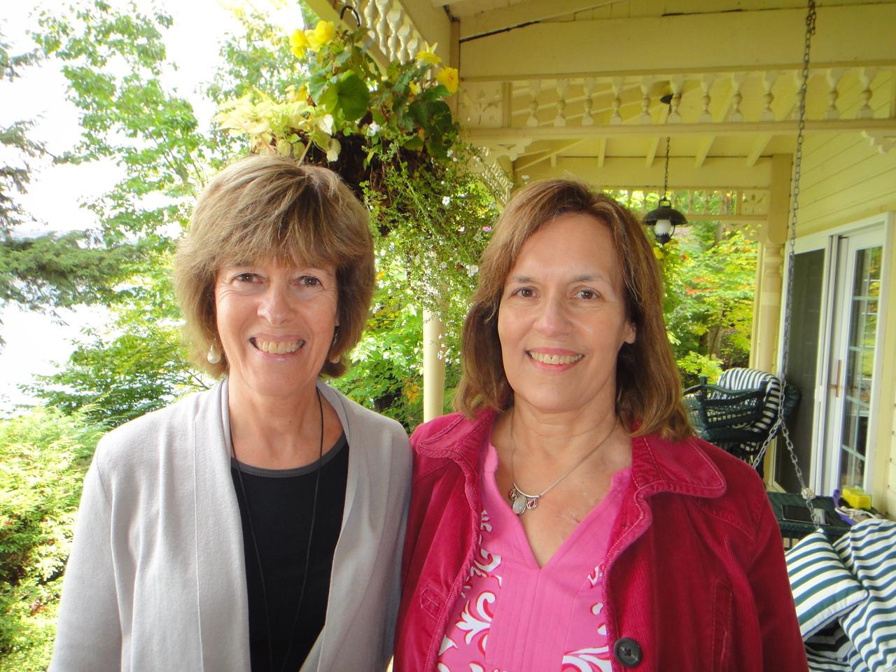 Nancy Hynes & Lorraine Gudas