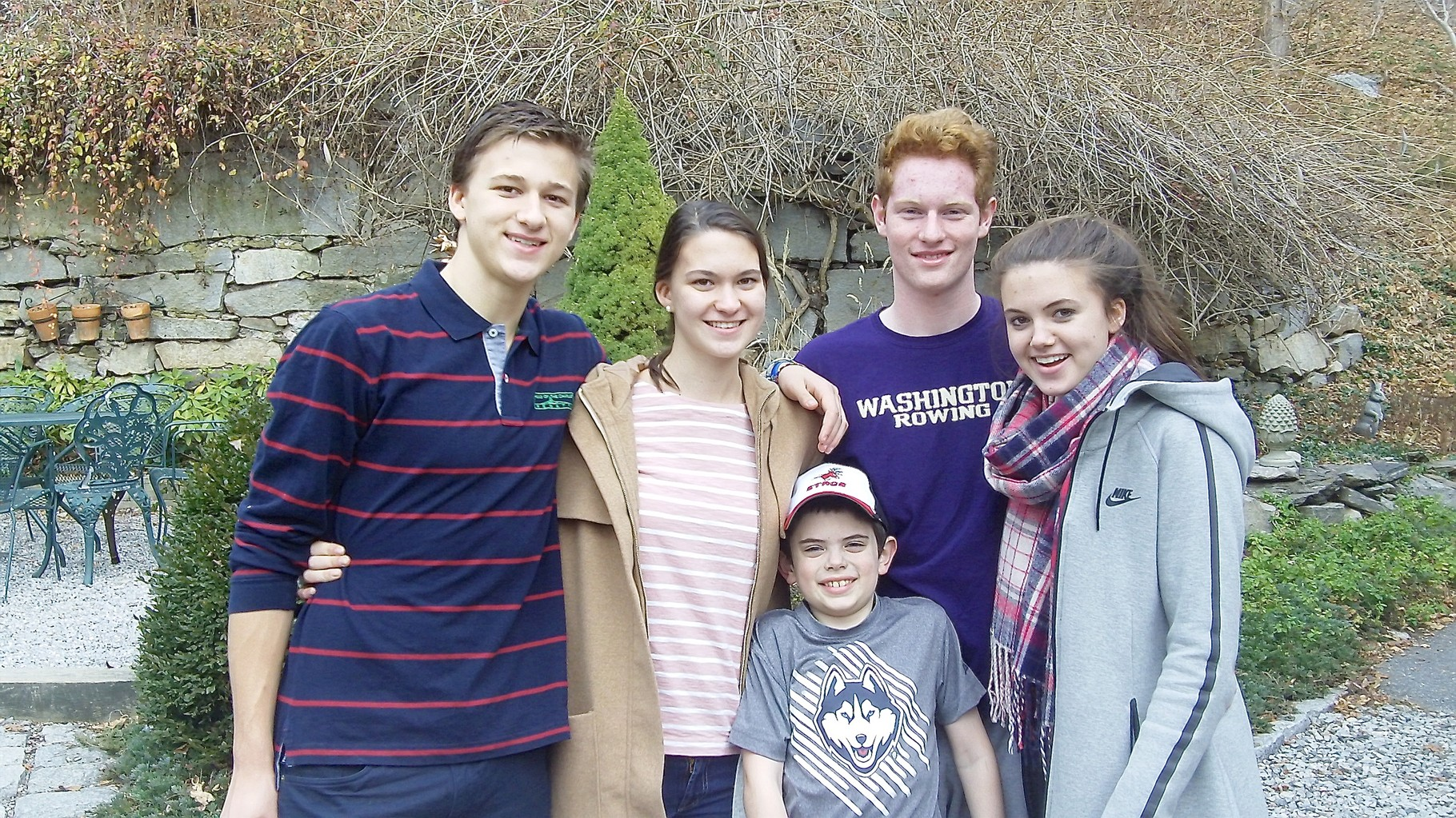 Jack, Ellie, Sam, Noah, & Kate Kagel  12-13-15