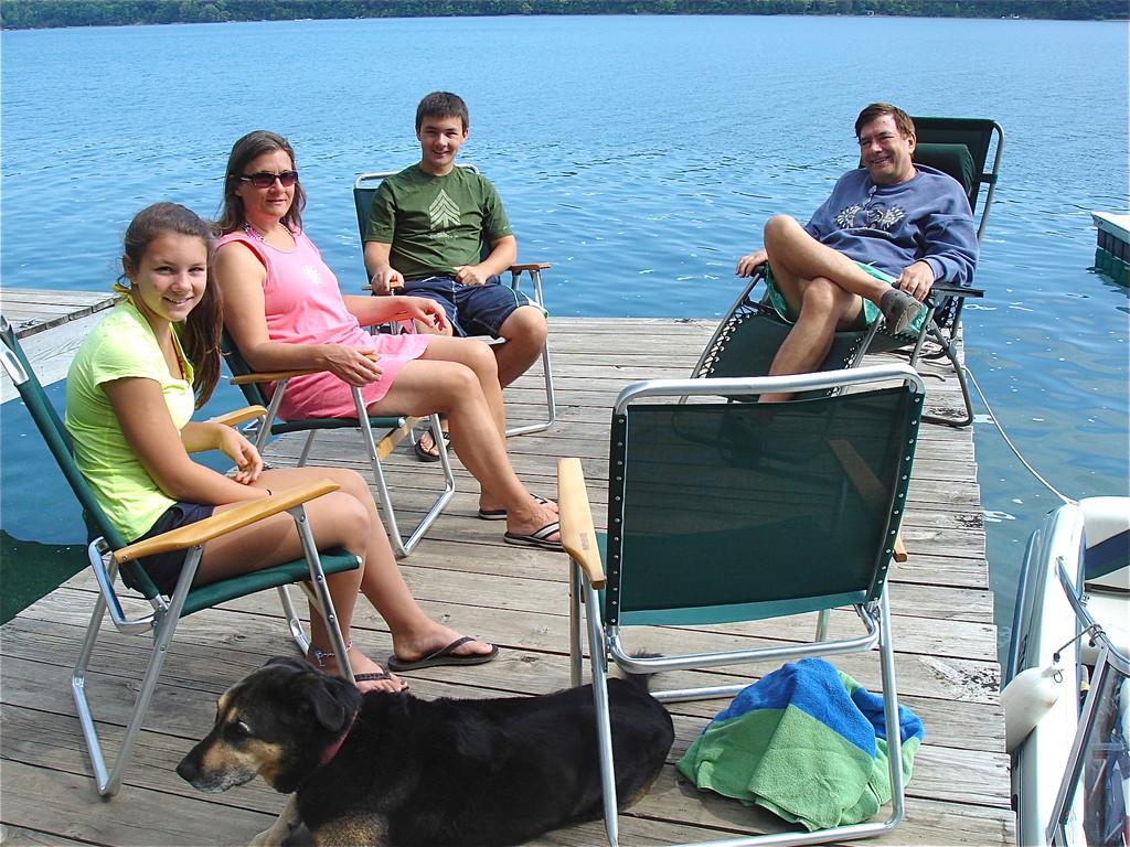 Sara, cyndi, Trevan, & John 8-2012