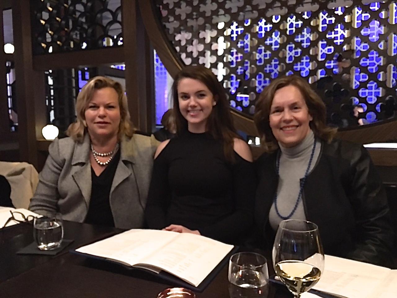 Celeste, Kate, Lorraine