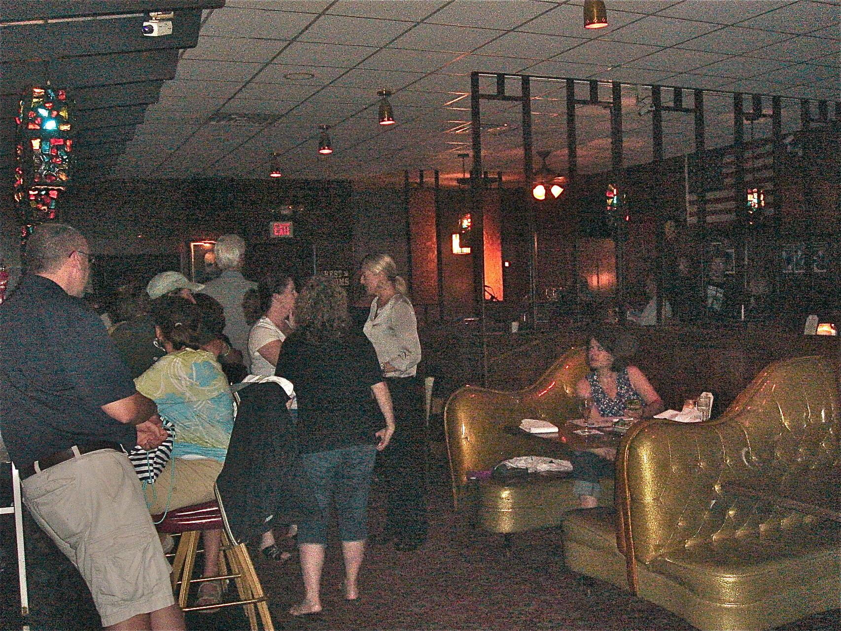 Inside Nye's, opened in 1950, 112 E. Hennepin Ave., Minneapolis, MN