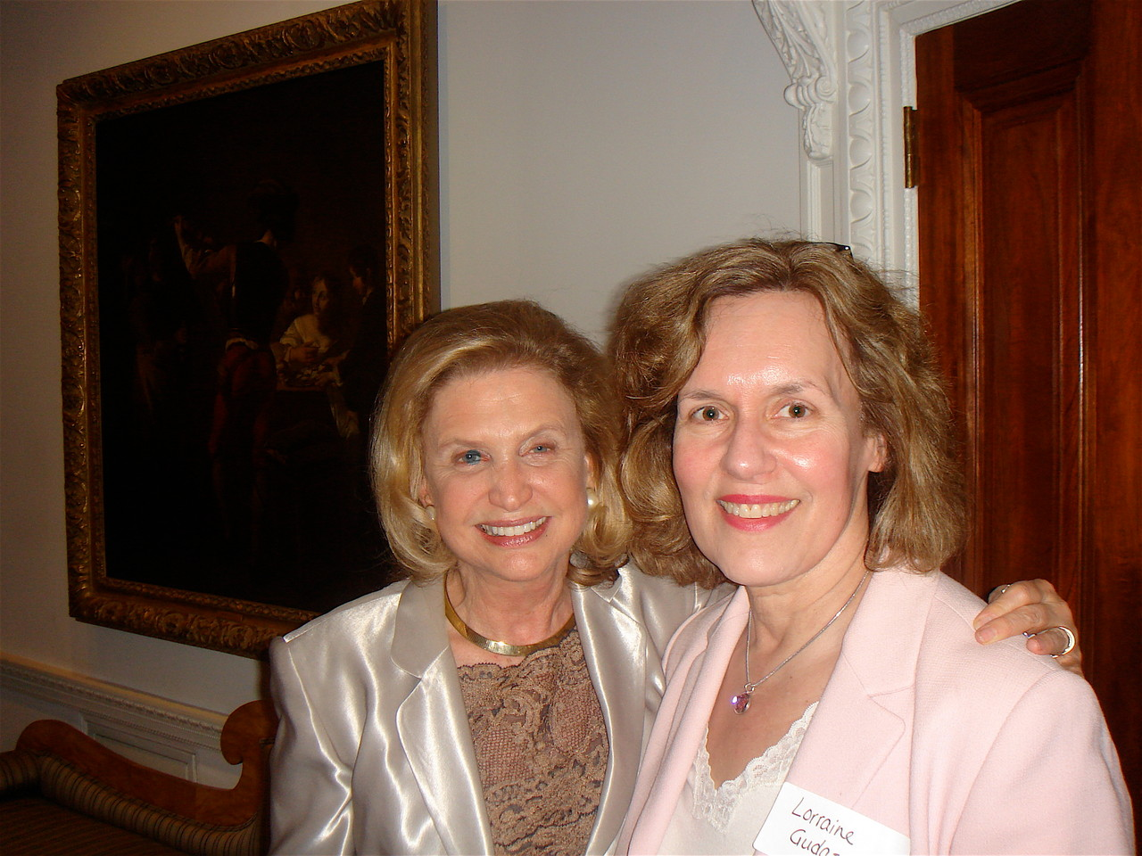 US Representative Carolyn Maloney and Dr. Lorraine Gudas, 2010 ??