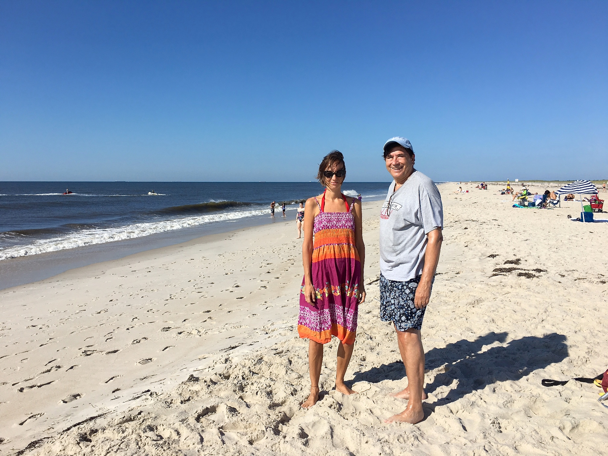 Ana & John Wagner at Jones Beach 8-20-17
