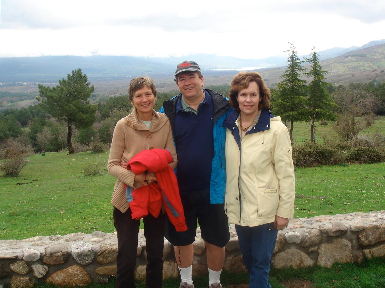 Jill, John, Lorraine  Spain, 2007