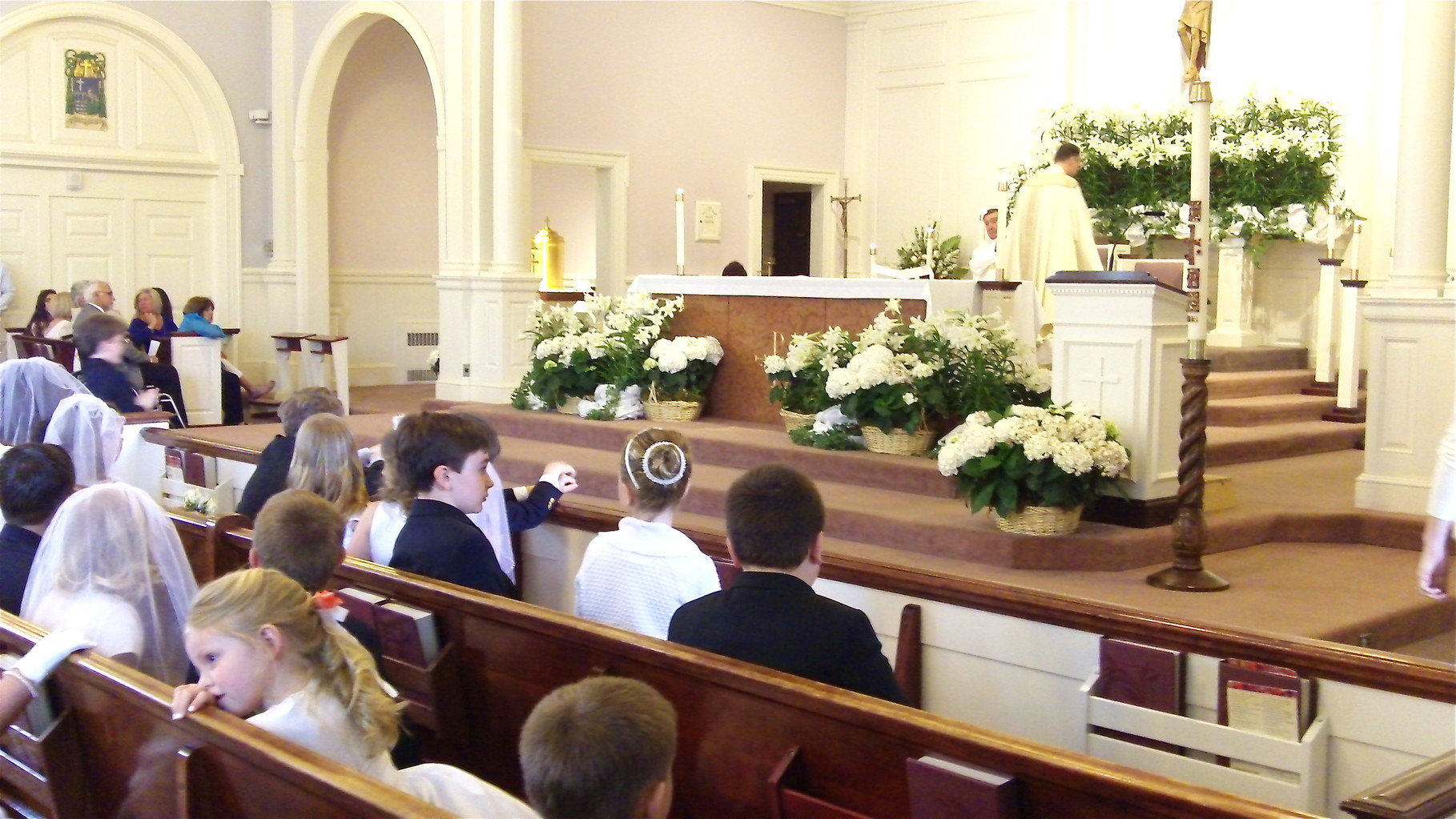 Stuart Kagel III First Communion, May, 2014