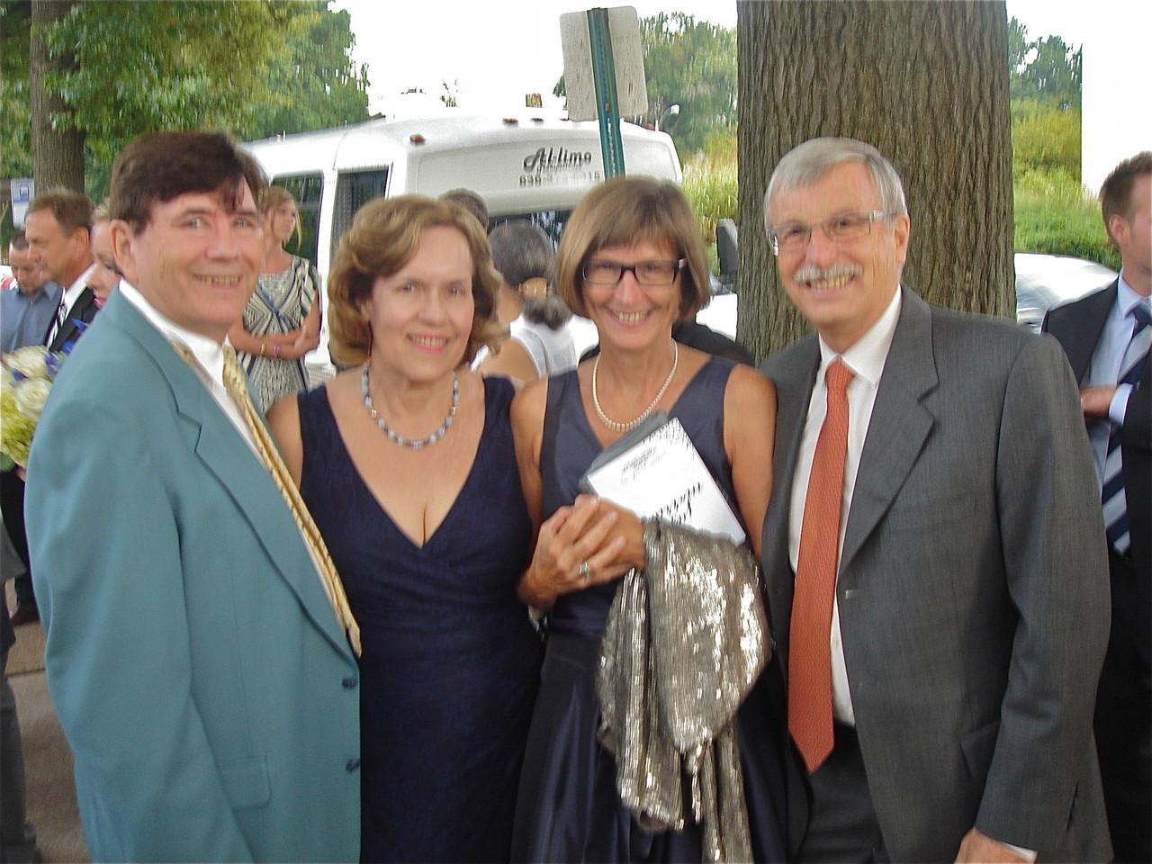 John Wagner, Lorraine Gudas, Jill & Antonio