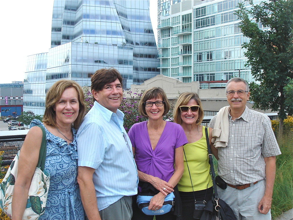 Lorraine, John, Jill, Sally, Antonio on the High Line
