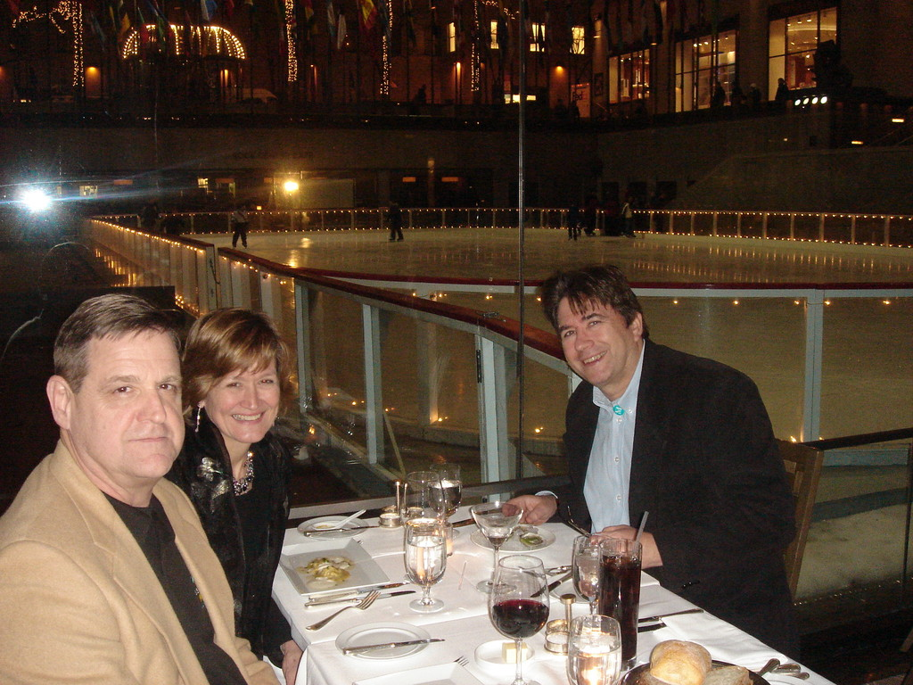 tom & Sally Schwarz, John Wagner  NYC about 2010