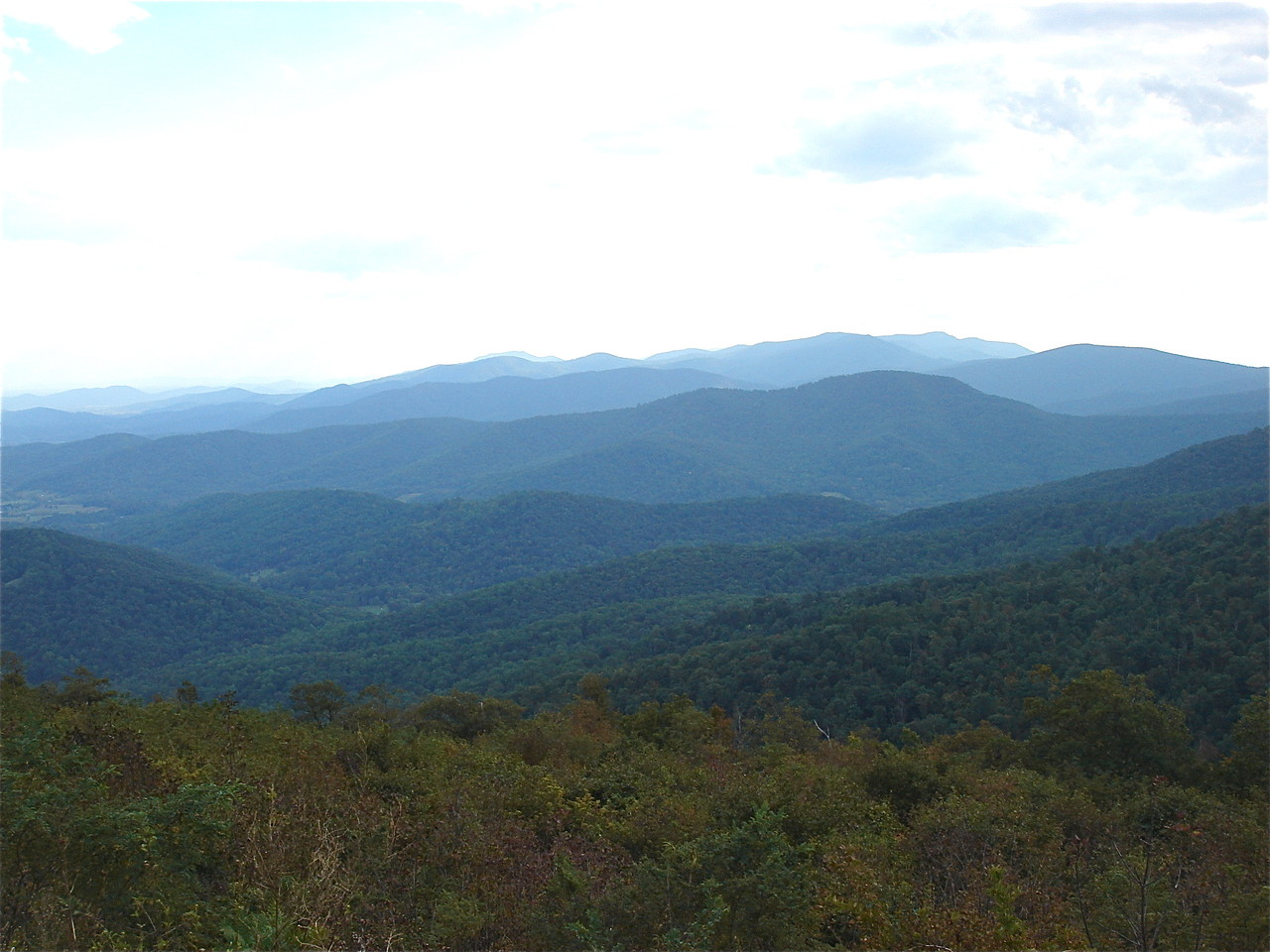 Skyline Drive, Blue Ridge Moutains