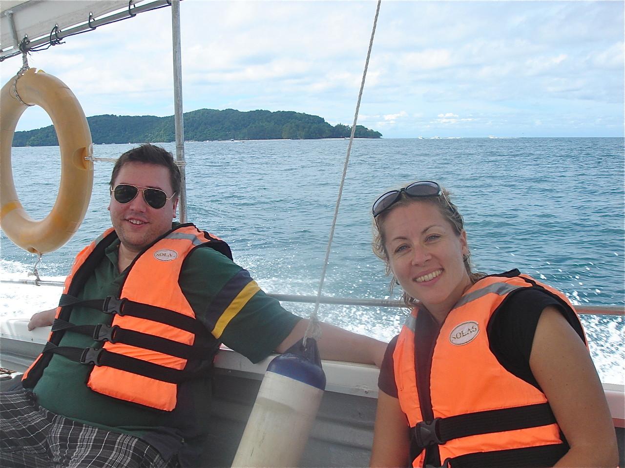 Greg Wagner & Emily Barner, near Kota Kinabalu, Sabah, Borneo